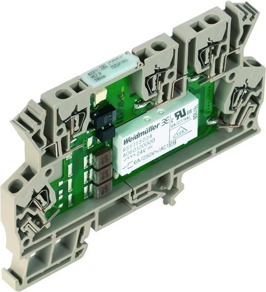 Vazební relé Weidmüller MCZ R 230VAC, 230 V/AC, 6 A, 1 přepínací kontakt, 10 ks