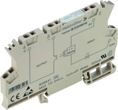Monofunkční časové relé Weidmüller MCZ TO 24VDC/150MS, 24 V/DC, 1 spínací kontakt 10 ks
