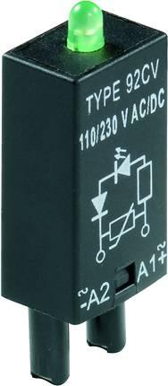 Zasouvací modul s diodou s LED diodou Weidmüller RIM 4 110/230VUC GN Barva světla: zelená vhodné pro sérii: Weidmüller řada RIDERSERIES RCL , 10 ks