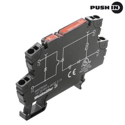 Opto vazebné relé Weidmüller TOP 24VAC/48VDC 0,1A 8950860000, 10 ks