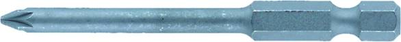 Krížový bit Weidmüller BIT E6,3 PH2X70 9024090000, 70 mm, chróm-vanadiová oceľ, tvrdené, 5 ks