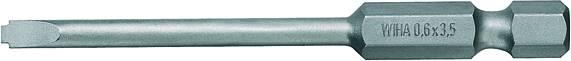 Plochý bit Weidmüller BIT E6.3Z;3.5 mm 9205670000, 70 mm, chrom-vanadová ocel, tvrzeno, 5 ks
