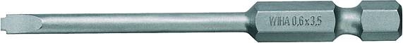 Plochý bit Weidmüller BIT E6.3Z;3.5 mm 9205670000, chrom-vanadová ocel, 5 ks