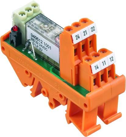 Deska s relé Weidmüller RS 32 24VDC LD LP 2U 9406121001