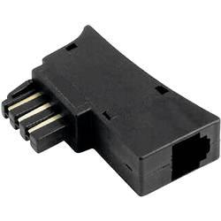 Telefonní adaptér [1x telefonní zástrčka TAE-N/F - 1x RJ12 zásuvka 6p6c] 0 m černá Hama