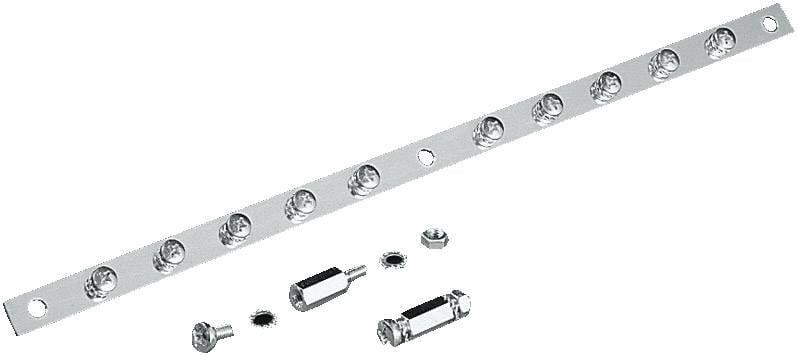 Sběrnicová lišta Rittal SZ 2413.375, 375 mm, ocel, 1 ks