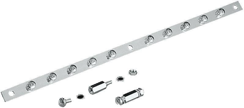 Sběrnicová lišta Rittal SZ 2413.550, ocel, 550 mm, 1 ks