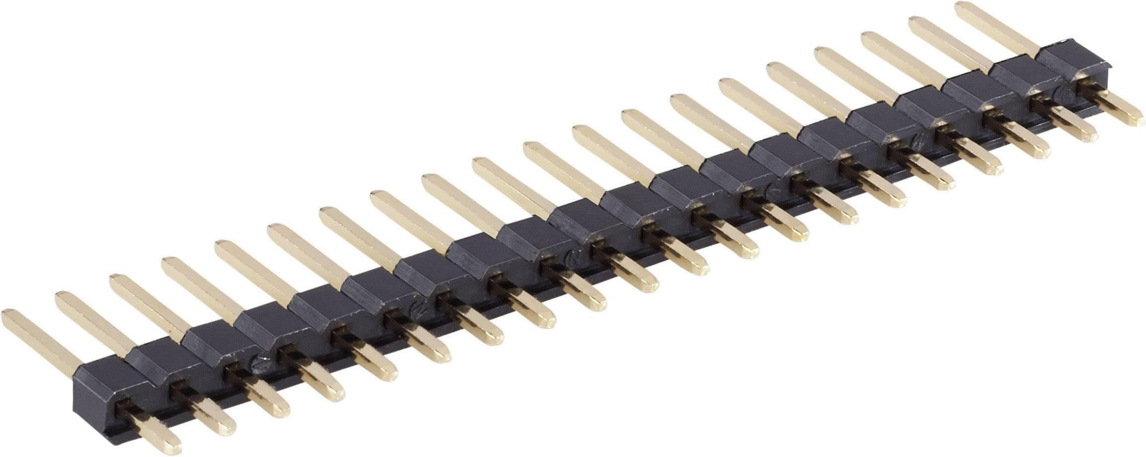 Pinová lišta rovná BKL 10120202, 1 x 8 pól., 2,54 mm, 20,32 x 2,54 x 12,6 mm
