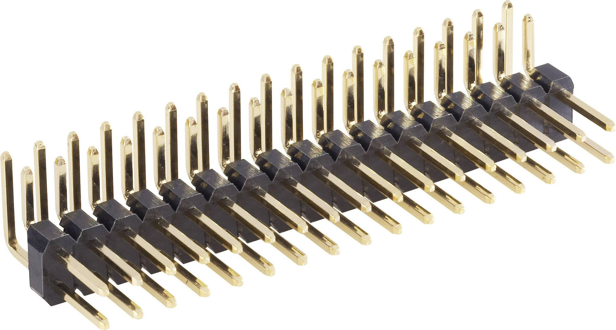 Pinová lišta (štandardná) BKL Electronic 10120535, řádky 2, kontakty na řádek 13, 1 ks