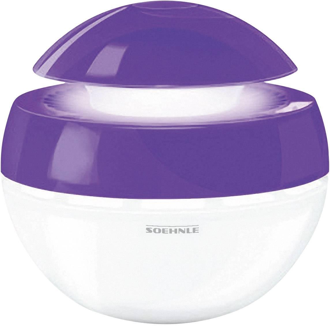 Ultrazuvkový zvlhčovač vzduchu Soehnle Airfresh Plus, 0,15 l/h, biela/fialová
