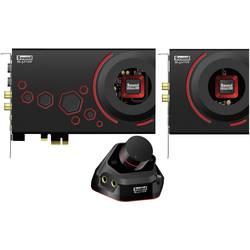 5.1 interní zvuková karta Sound Blaster SoundBlaster ZXR PCIe x1 digitální výstup, externí konektor na sluchátka, externí ovládání hlasitosti