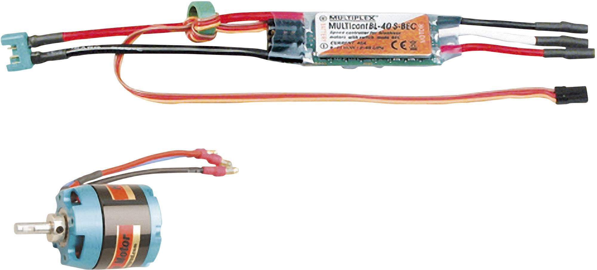Sada Brushless elektromotoru Multiplex Solius (332660)