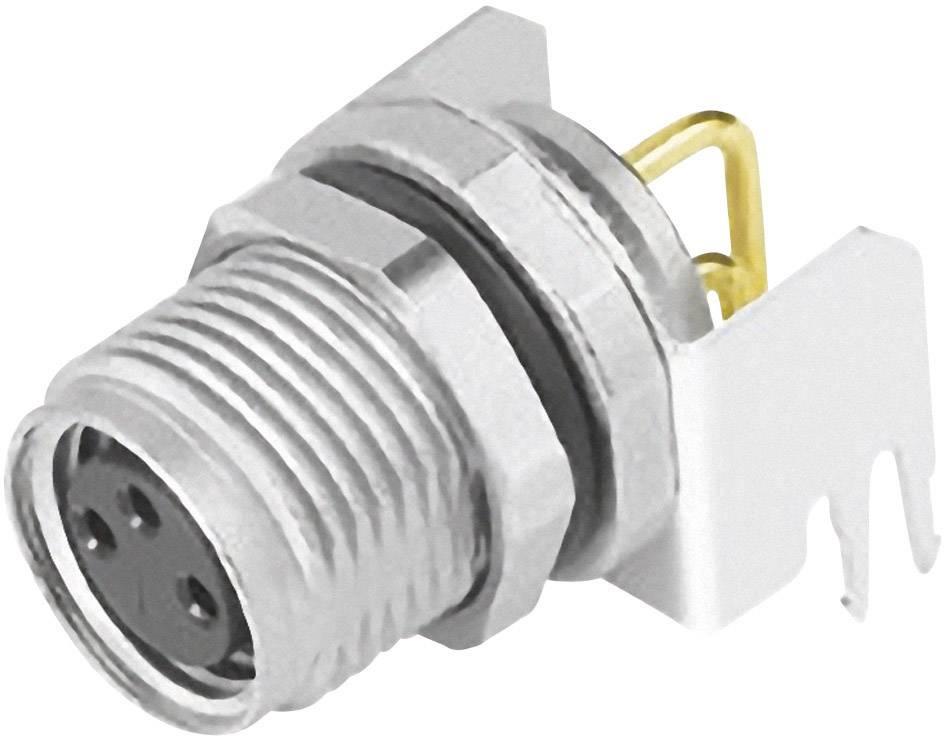 Zabudovateľný zástrčkový konektor pre senzory - aktory Binder 09 3418 82 03, 1 ks