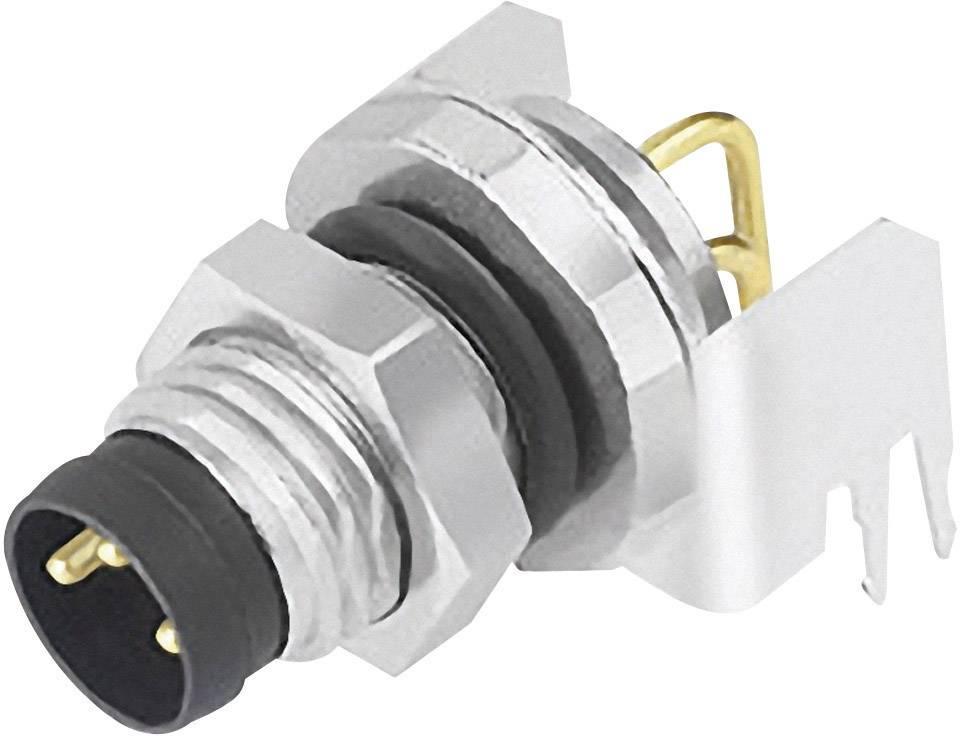 Zabudovateľný zástrčkový konektor pre senzory - aktory Binder 09 3419 82 03, 1 ks