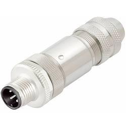 Neupravený zástrčkový konektor pro senzory - aktory Binder 99 1491 812 12 zástrčka, rovná, 20 ks