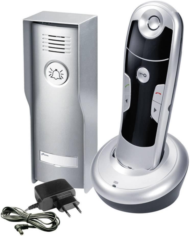Bezdrátový domácí telefon GEV CAF 87026, 1 rodina, 45 m, stříbrná/antracit