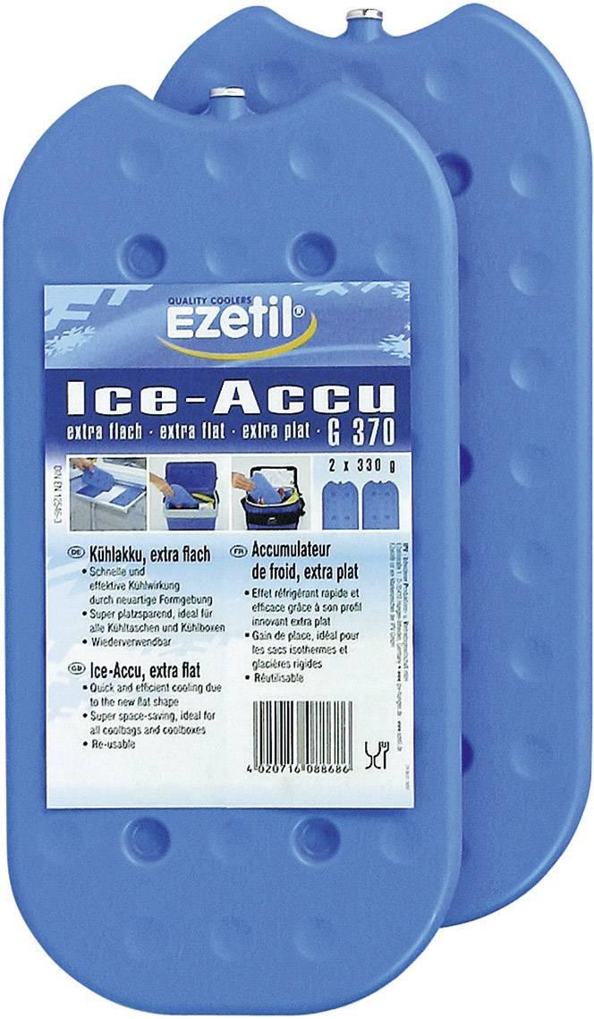 Chladiace akumulátory Ezetil IceAkku G370, (d x š) 245 mm x 130 mm, 2 ks, modrá/ľadovo modrá