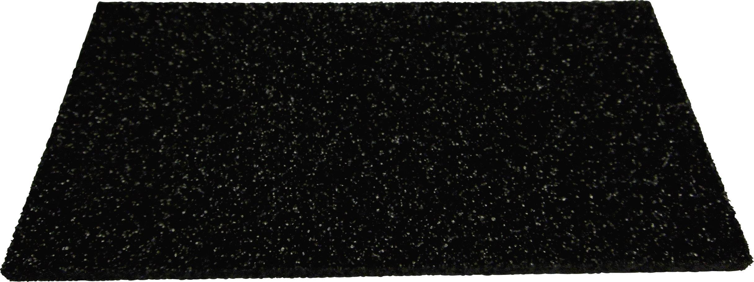 Disipativní ESD pěna, 150 x 75 x 5 mm, černá