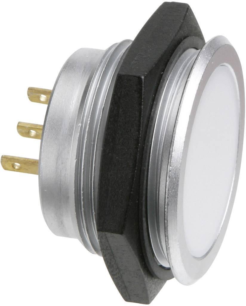LED signálka Signal Construct SMFE30222, 12 V, červená/zelená