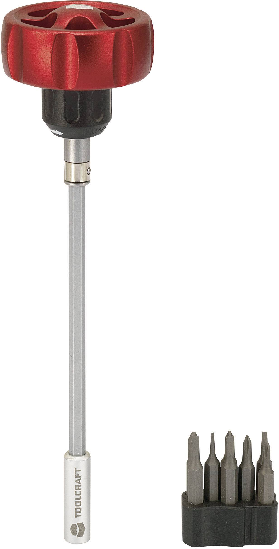 """Ráčňa na bity TOOLCRAFT 394618, 5/32"""" (4 mm)"""