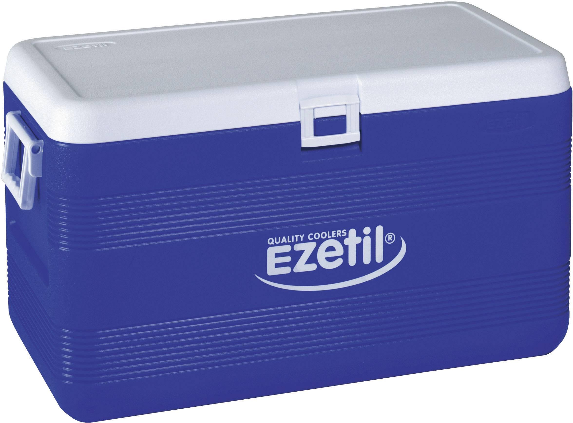 Přenosná lednice (autochladnička) Ezetil XXL 3-DAYS ICE EZ 70, 70 l, modrá, bílá, šedá