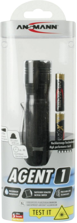 Vreckové LED svietidlo Ansmann Agent 1