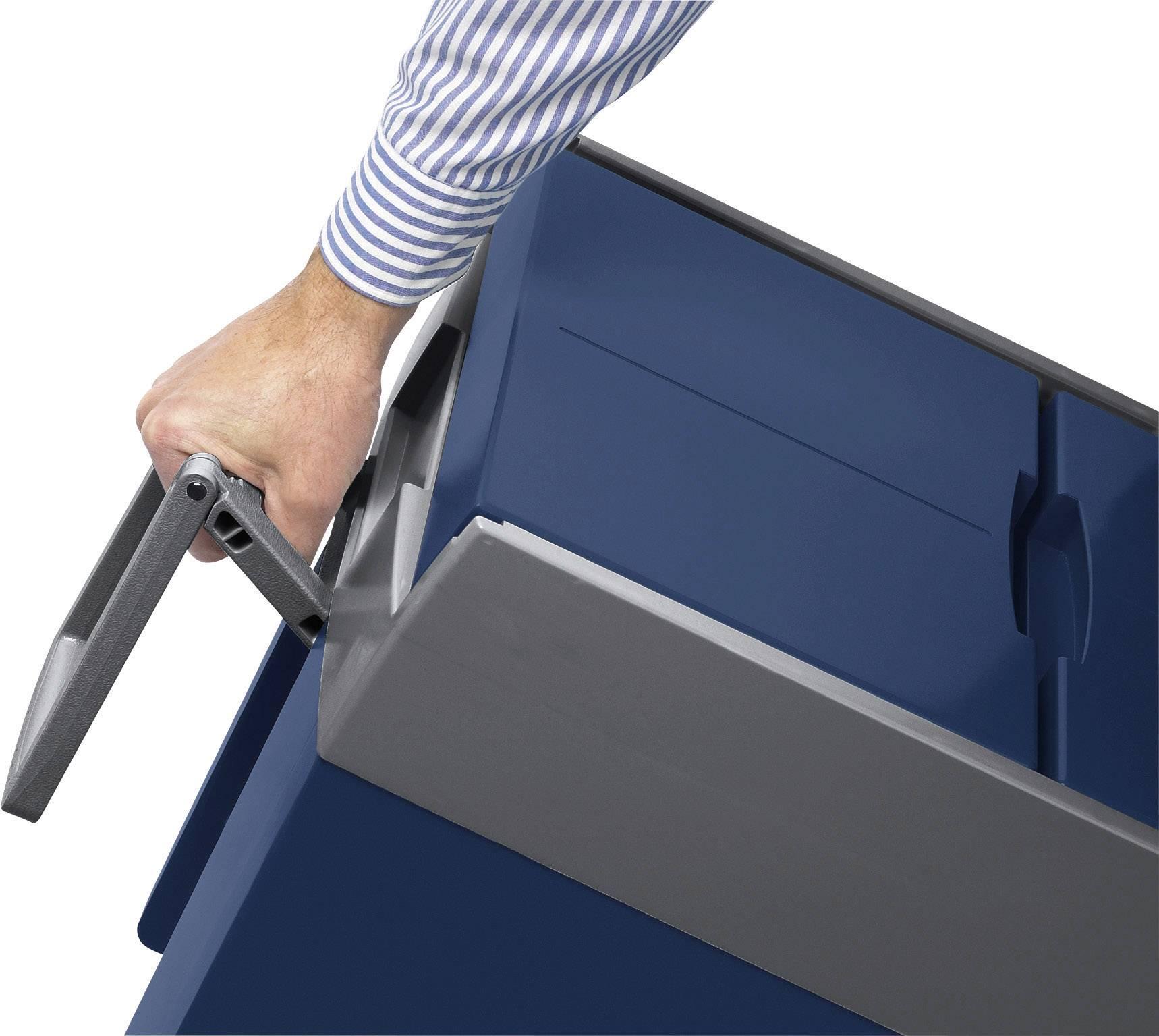 Prenosná chladnička (autochladnička) MobiCool W48 12/230, 12 V, 230 V, 48 l, modrá, sivá
