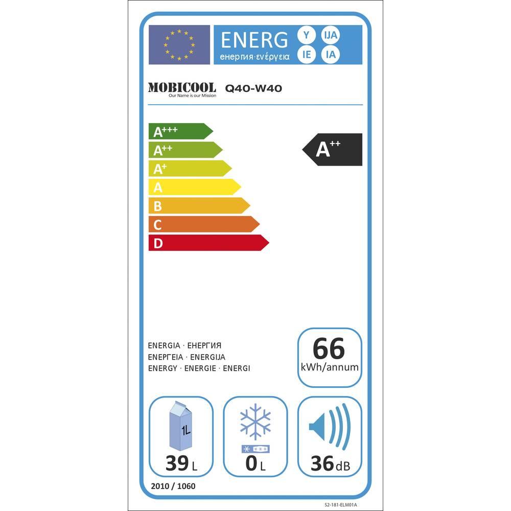 p enosn lednice autochladni ka mobicool q40 12 v 230 v en t da a 40 l hlin k. Black Bedroom Furniture Sets. Home Design Ideas