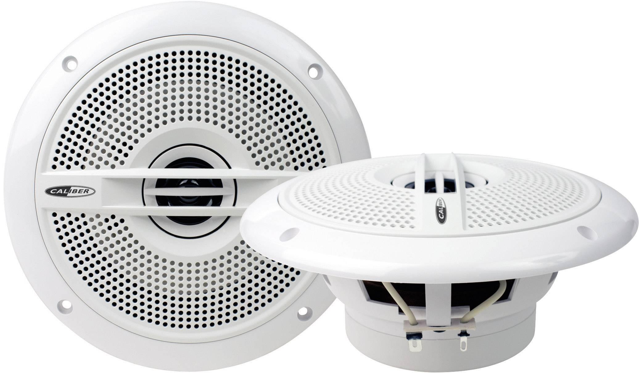 2cestný koaxiálny zabudovateľný reproduktor Caliber Audio Technology CSM5 blanc, 100 W