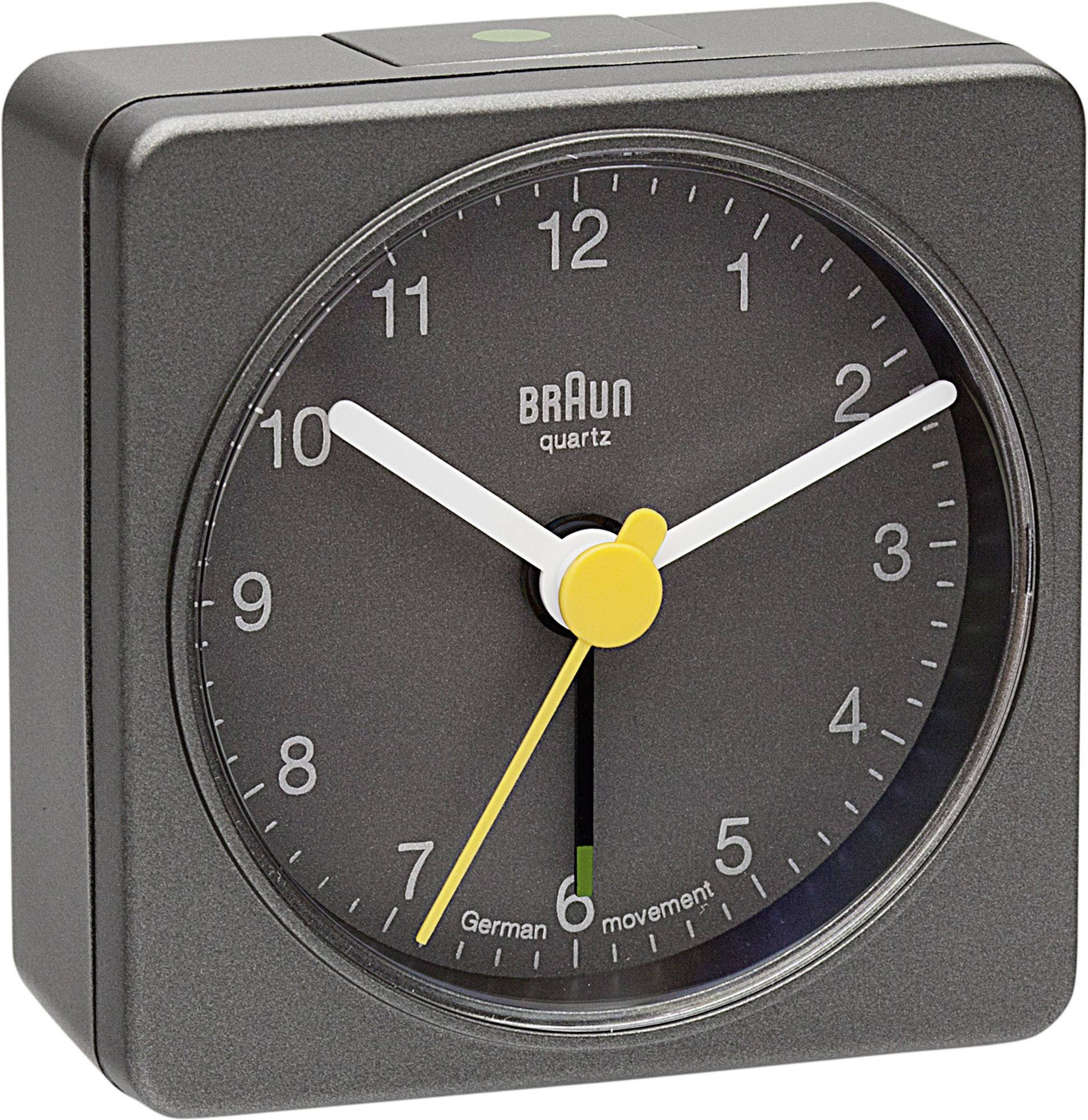 Analogový budík Braun, 66031, 56 x 56 x 27 mm
