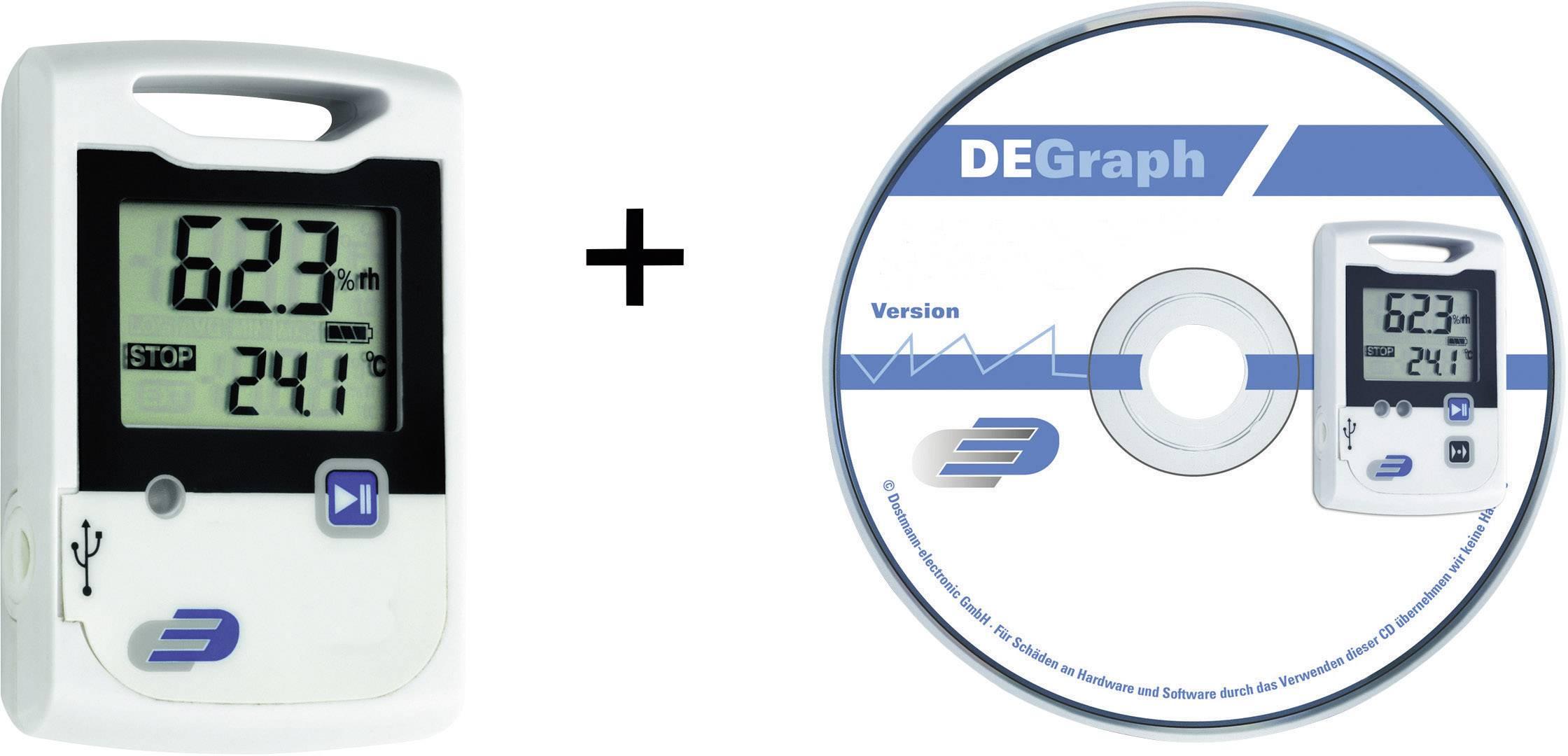 Sada teplotného dataloggeru Dostmann electronic LOG200, -30 až +60 °C