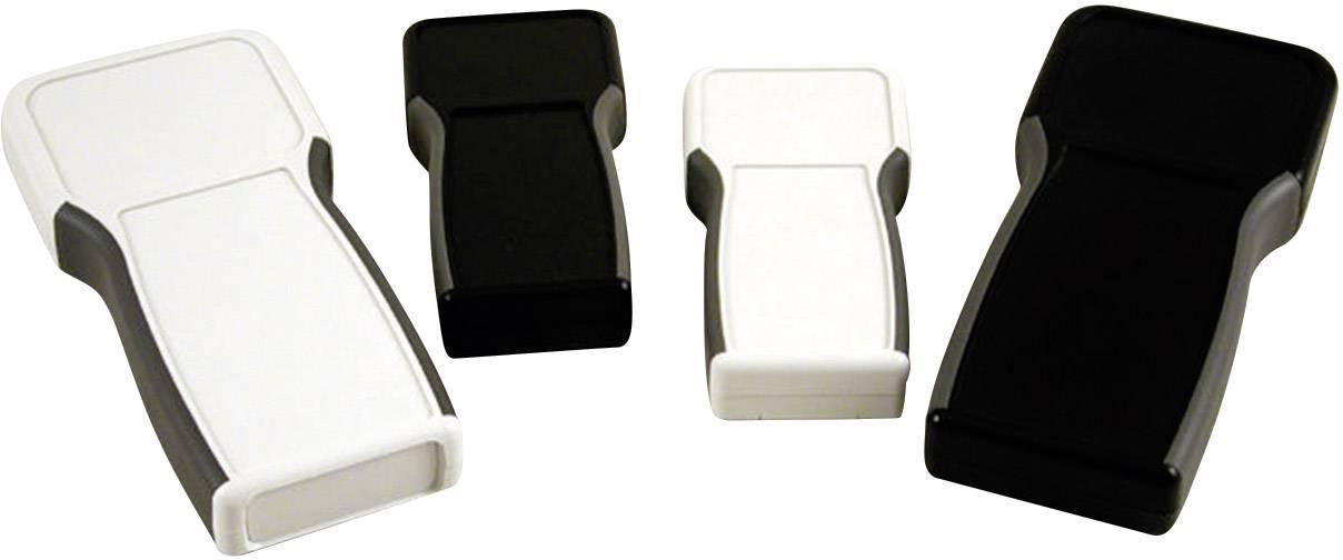 Plastová krabička Hammond Electronics 1553TTBK, 28 x 80 x 165 mm, ABS, IP54, čierna, 1 ks