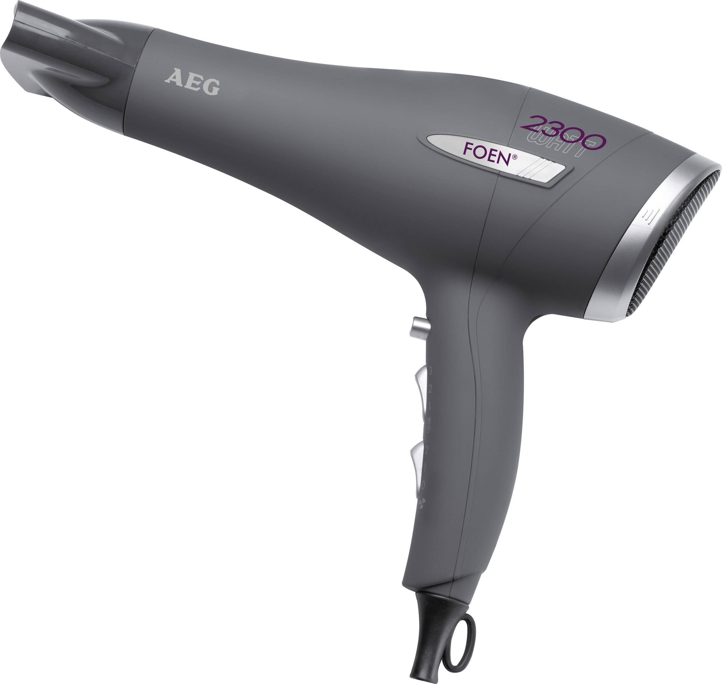 Fén AEG HT 5580, stříbrná/antracit