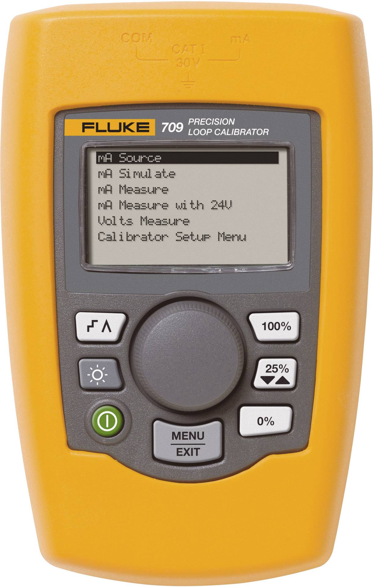Presný kalibrátor slučky s komunikáciou/diagnostikou Fluke 709H, 4234361