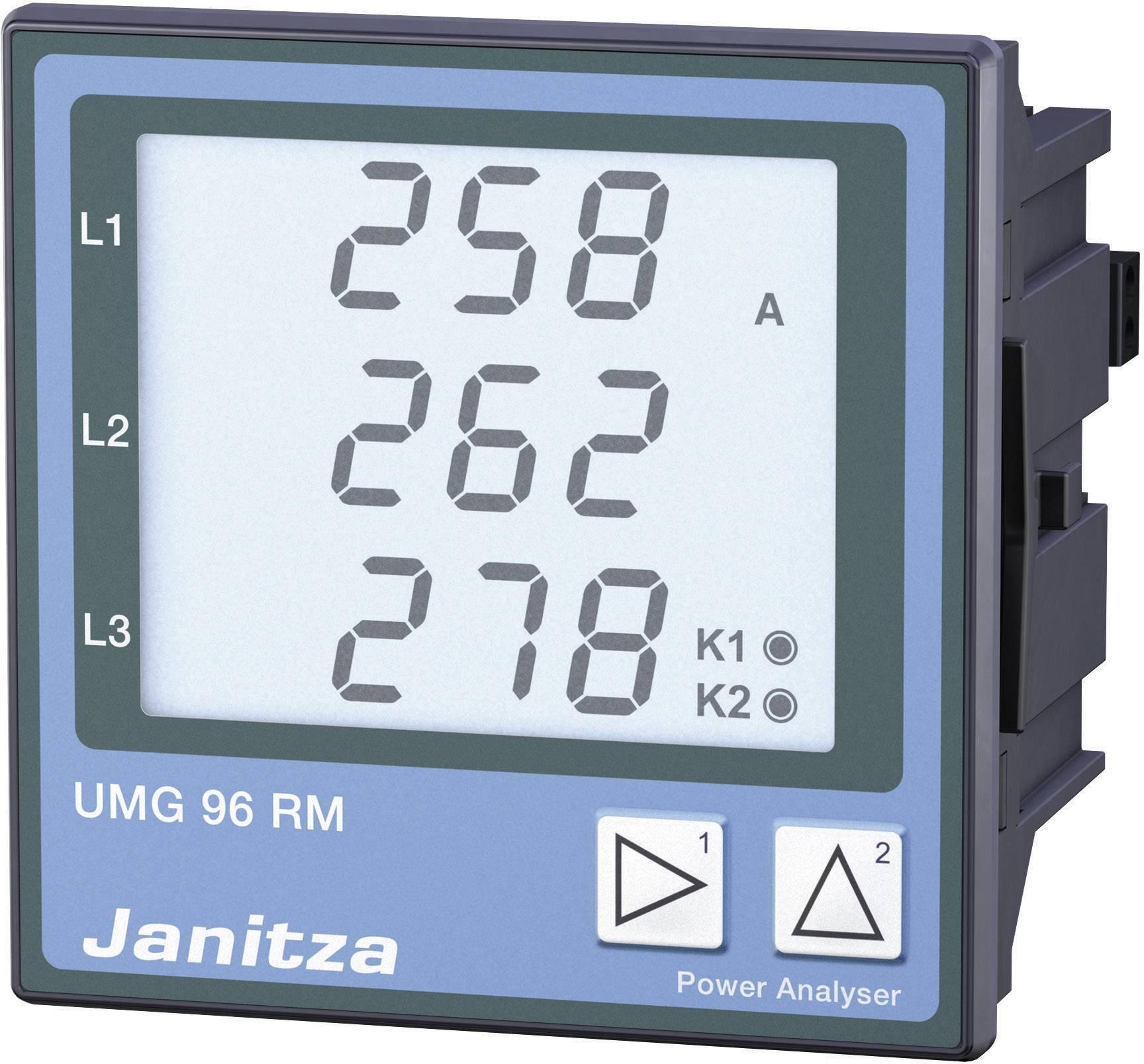 Panelové měřidlo Janitza UMG96RM