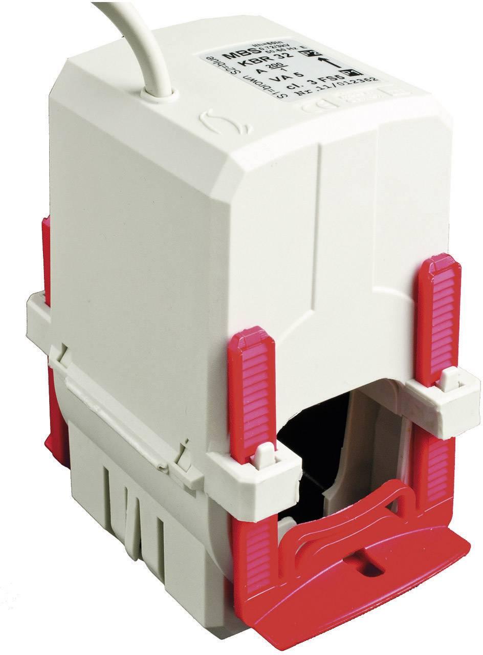 Transformátor prúdu MBS KBR 32 600/1A 5VA Kl.1, 600 A, Ø priechodky vodiče 33 mm