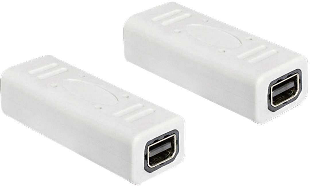 DisplayPort adaptér Delock 65450, biela