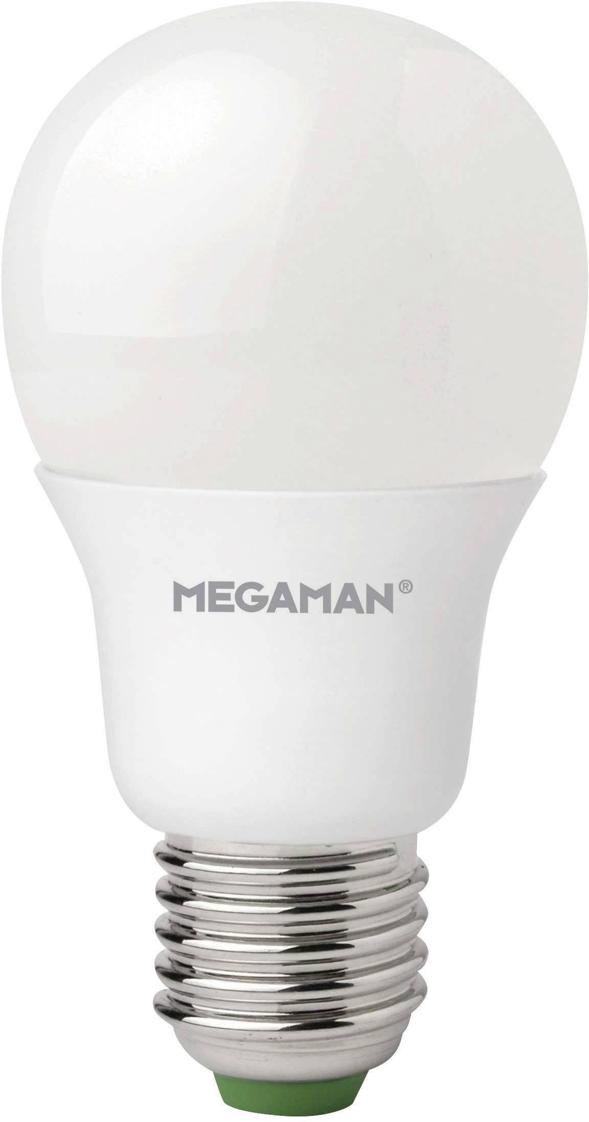 LED žiarovka Megaman® E27, 5.5 W, teplá biela