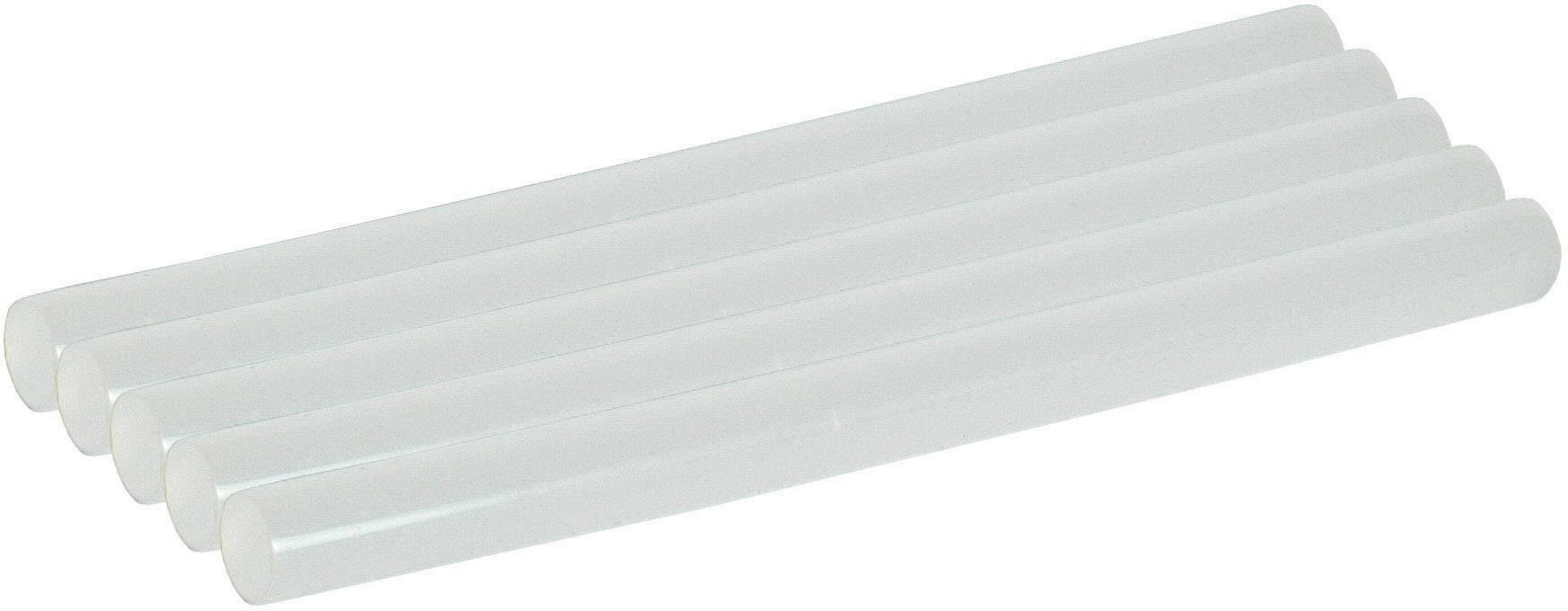 Lepiace tyčinky Star Tec ST 10642, Ø 7 mm, délka 100 mm, 5 ks, transparentná biela