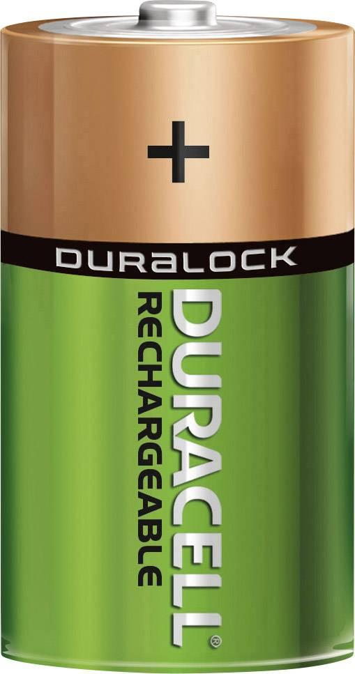 Akumulátor Duracell, NiMH D, 2200 mAh, 2 ks