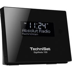 DAB+ rádio s výstupom bez reproduktorov TechniSat DigitRadio 100, Bluetooth, DAB+, UKW, čierna