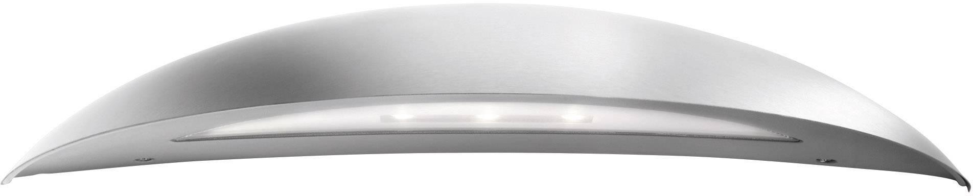 LEDvonkajšie nástennéosvetlenie 7.5 W teplá biela Philips Lighting Ledino 17208/47/16 nerezová oceľ