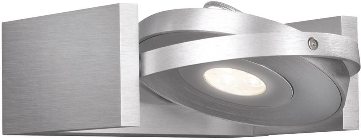 LED nástenné svetlo Philips Lighting Ledino 53150/48/16, 6 W, teplá biela, strieborná