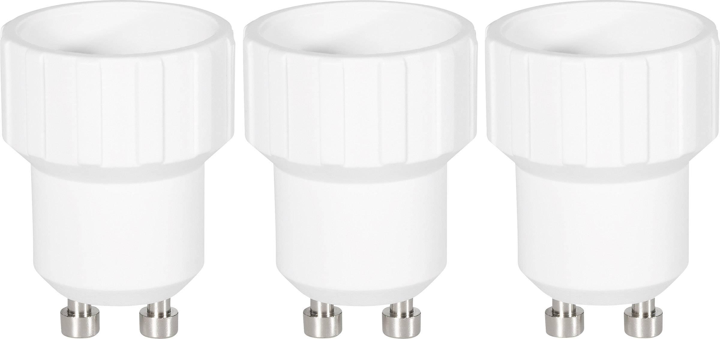 Redukcia Renkforce pre GU10 ⇔ E14, 97029c81f, 220 - 250 V, max. 75 W, biela