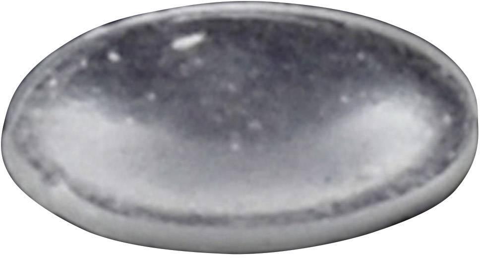 Podstavná nôžka prístrojová TOOLCRAFT PD2816C, (Ø x v) 8 mm x 1.6 mm, priehľadná, 1 ks