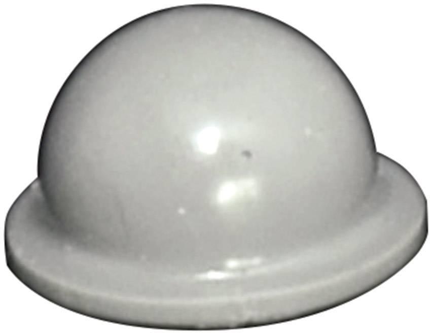 Podstavná nôžka prístrojová TOOLCRAFT PD2055G, (Ø x v) 9.6 mm x 5.4 mm, sivá, 1 ks