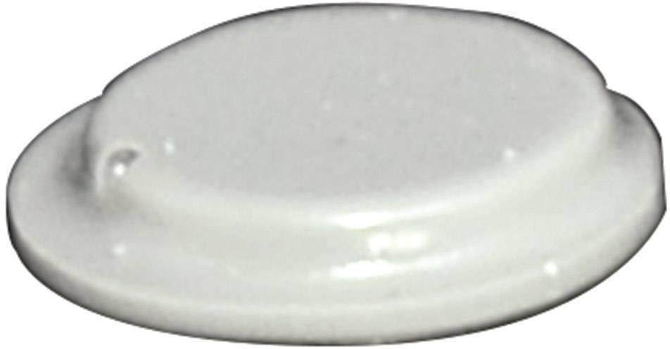 Podstavná nôžka prístrojová TOOLCRAFT PD2120G, (Ø x v) 10.1 mm x 1.8 mm, sivá, 1 ks