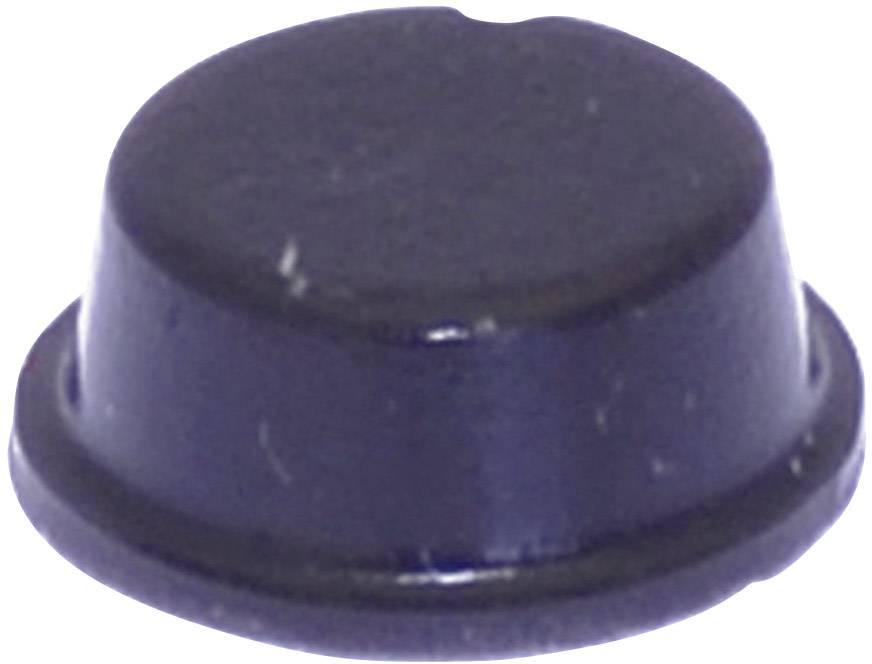 Podstavná nožka přístrojová TOOLCRAFT PD2104SW, (Ø x v) 10 mm x 4 mm, černá, 1 ks