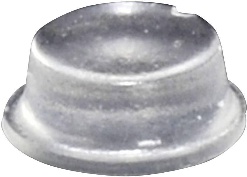 Podstavná nôžka prístrojová TOOLCRAFT PD2104C, (Ø x v) 10 mm x 4 mm, priehľadná, 1 ks