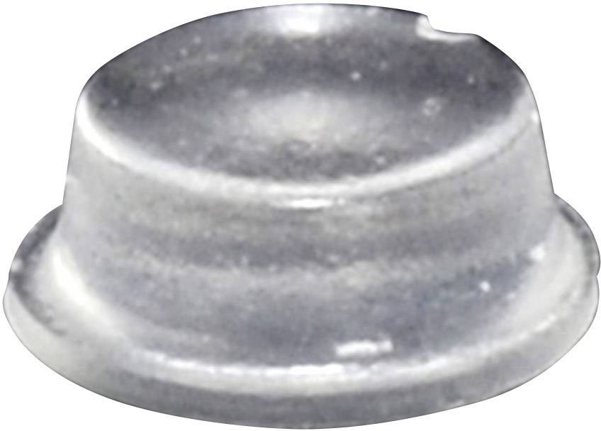Podstavná nožka přístrojová TOOLCRAFT PD2104C, (Ø x v) 10 mm x 4 mm, transparentní, 1 ks